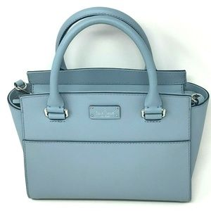 Kate Spade Grove Street Lana Satchel Blue Dawn